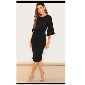 Dresses & Skirts - Classy Black Pencil Dress